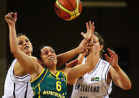 090831 Basketball - NZ Tall Ferns v Australian Opals