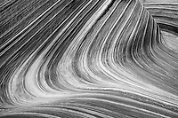 The lines and curves of sandstone, Coyote Buttes North.