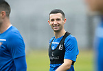 St Johnstone Training…04.09.19<br />Jason Holt pictured during training at McDiarmid Park<br />Picture by Graeme Hart.<br />Copyright Perthshire Picture Agency<br />Tel: 01738 623350  Mobile: 07990 594431