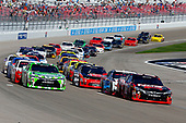 2017 NASCAR Xfinity Series - Boyd Gaming 300<br /> Las Vegas Motor Speedway - Las Vegas, NV USA<br /> Saturday 11 March 2017<br /> Kyle Busch, NOS Energy Drink Toyota Camry and Daniel Suarez, Interstate Batteries Toyota Camry<br /> World Copyright: Russell LaBounty/LAT Images<br /> ref: Digital Image 17LAS1rl_2899