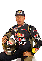 Mar. 18, 2011; Chandler, AZ, USA;  LOORRS driver Ricky Johnson poses for a portrait at Firebird International Raceway. Mandatory Credit: Mark J. Rebilas