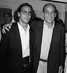 PRINCIPE ALESSANDRO  DADO  RUSPOLI CON IL FIGLIO FRANCESCO<br /> FESTA CARLO GIACOMA AD ANSEDONIA 1988