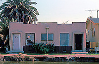 Venice CA: Small 1920's (?) Bungalow on Canal.   Photo '82.
