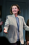 "Joan Allen during the Opening Night Curtain Call bows for ""The Waverly Gallery"" at the Golden Theatre on October 25, 2018 in New York City."