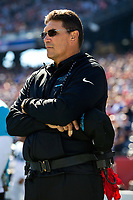 10/01/17 - Photography of the Carolina Panthers v. The  New England Patriots, during their NFL game at Gillette Stadium Foxborough, MA.<br /> <br /> Charlotte Photographer - PatrickSchneiderPhoto.com