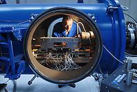 """- Institute for energetic and the interphases (IENI), tunnel for flight simulation at hypersonic speed; searches on """"scramjet"""" technology (Supersonic Combustion Ramjet)...In this installation, developed by the National Research Council (CNR) and Italian Space Agency, are currently running tests on reduced scale models of rocket engines RBCC (Rocket Based Combined Cycles) that draw  oxygen for the combustion from the atmosphere instead that from the tanks. This will allow the development of hypersonic airplanes (until to Mach 15 and beyond) and artificial satellites launchers at more reduced costs of those possible today.....- Istituto per l'energetica e le interfasi (IENI),  tunnel per la simulazione di volo a velocità ipersonica; ricerche sulla tecnologia """"scramjet"""" ( Supersonic Combustion Ramjet)...In questo impianto, sviluppato dal Consiglio Nazionale delle Ricerche e dall'Agenzia Spaziale Italiana, sono attualmente in corso prove su modelli in scala ridotta di propulsori  a razzo RBCC (Rocket Based Combined Cycles) che ricavano l'ossigeno per la combustione dall'atmosfera invece che dai serbatoi. Questo permetterà lo sviluppo di aerei ipersonici (fino a Mach 15 e oltre) e di vettori per la messa in orbita di satelliti artificiali a costi più ridotti di quelli possibili oggi."""
