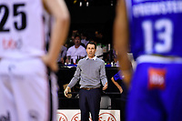 Coach Zico Coronel of the Saints during the round one NBL match between the Wellington Saints and the Canterbury Rams at TSB Bank Arena, Wellington, New Zealand on Friday 30 April 2021.<br /> Photo by Masanori Udagawa. <br /> www.photowellington.photoshelter.com