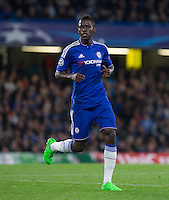 Ramires of Chelsea during the UEFA Champions League match between Chelsea and Maccabi Tel Aviv at Stamford Bridge, London, England on 16 September 2015. Photo by Andy Rowland.
