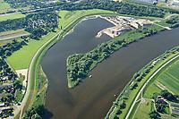 Kreetsand: EUROPA, DEUTSCHLAND, HAMBURG 09.07.2017:   Tiedeelbe Konzept Kreetsand, Hamburg Port Authority (HPA), soll auf der Ostseite der Elbinsel Wilhelmsburg zusaetzlichen Flutraum für die Elbe schaffen. Das Tidevolumen wird durch diese strombauliche Massnahme vergroessert und der Tidehub reduziert. Gleichzeitig ergeben sich neue Moeglichkeiten für eine integrative Planung und Umsetzung verschiedenster Interessen und Belange aus Hochwasserschutz, Hafennutzung, Wasserwirtschaft, Naturschutz und Naherholung.