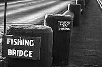 Fishing Bridge, Closed to Fishing?