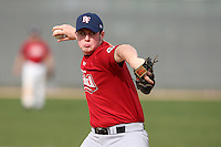 January 16, 2010:  Justin Hunt (Kernersville, NC) of the Baseball Factory East Team during the 2010 Under Armour Pre-Season All-America Tournament at Kino Sports Complex in Tucson, AZ.  Photo By Mike Janes/Four Seam Images