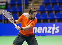 Rotterdam,Netherlands, December 15, 2015,  Topsport Centrum, Lotto NK Tennis, Tim van Terheijden (NED)<br /> Photo: Tennisimages/Henk Koster
