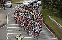 CIRCUITO DOSQUEBRADAS-CARTAGO -LA PAILA -ARMENIA -PEREIRA-DOSQUEBRADAS-COLOMBIA- 13-AGOSTO-2014. Vuelta a Colombia  , 7 etapa ,  ganada por el italiano Andrea Pasqualon  . / Cycling Tour to Colombia 7 stage, won by Italian Andrea Pasqualon . Photo: VizzorImage / Jose Miguel Palencia / Stringer