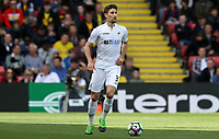 Federico Fernandez of Swansea City during the Premier League match between Watford and Swansea City at Vicarage Road Stadium, Watford, England, UK. Saturday 15 April 2017