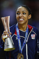 Alisha Glass of  USA United States celebrates the victory <br /> World Champions <br /> Milano 12-10-2014 Forum Assago Mondiali <br /> Volley Women's World Championship Italy 2014 <br /> Foto Insidefoto