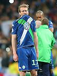 WfL Wolfsburg's Andre Schurke dejected after Champions League 2015/2016 Quarter-finals 2nd leg match. April 12,2016. (ALTERPHOTOS/Acero)