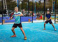 Netherlands, September 5,  2020, Amsterdam, Padel Dam, NK Padel, National Padel Championships, <br /> Photo: Henk Koster/tennisimages.com