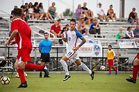 Lakewood Ranch, FL - Sunday July 23, 2017: Nicholas Mayhugh during an international friendly match between the paralympic national teams of the United States (USA) and Canada (CAN) at Premier Sports Campus at Lakewood Ranch.