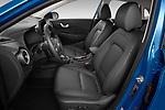Front seat view of 2021 Hyundai Kona-Hybrid Sky 5 Door SUV Front Seat  car photos
