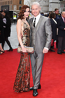 """Christina V and Rhydian Roberts<br /> arrives for the """"Florence Foster Jenkins"""" European premiere at the Odeon Leicester Square, London<br /> <br /> <br /> ©Ash Knotek  D3106 12/04/2016"""