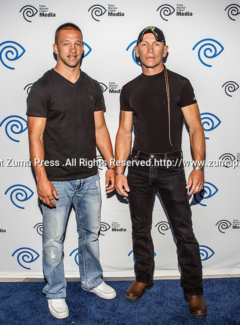 Ray Molinere and Jay Paul Molinere at the Time Warner Media Cabletime Upfront media event held at the Private Social Restaurant  in Dallas, Texas.