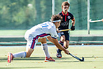 Mannheim, Germany, August 22: Pre-season test match between Mannheimer HC and KHC Leuven from Belgium. (Photo by Dirk Markgraf / www.265-images.com) ***