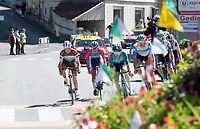 the breakaway group<br /> <br /> Stage 4 from Sisteron to Orcières-Merlette (161km)<br /> <br /> 107th Tour de France 2020 (2.UWT)<br /> (the 'postponed edition' held in september)<br /> <br /> ©kramon