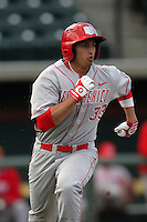 March 7 2010: Ryan Honeycutt of University of New Mexico during game against USC at Dedeaux Field in Los Angeles,CA.  Photo by Larry Goren/Four Seam Images