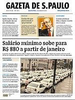 30.12.2016: Jornal Gazeta de S.Paulo - Um grupo de cerca de cem taxistas interditou o Viaduto do Chá nesta terça-feira, contra a proposta da Prefeitura de São Paulo que pretende regulamentar o aplicativo Uber; o decreto será colocado na internet para que a população possa opinar. (Foto: Fábio Vieira/FotoRua)