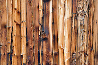 Wood siding of historic old house. Nevada City, Montana