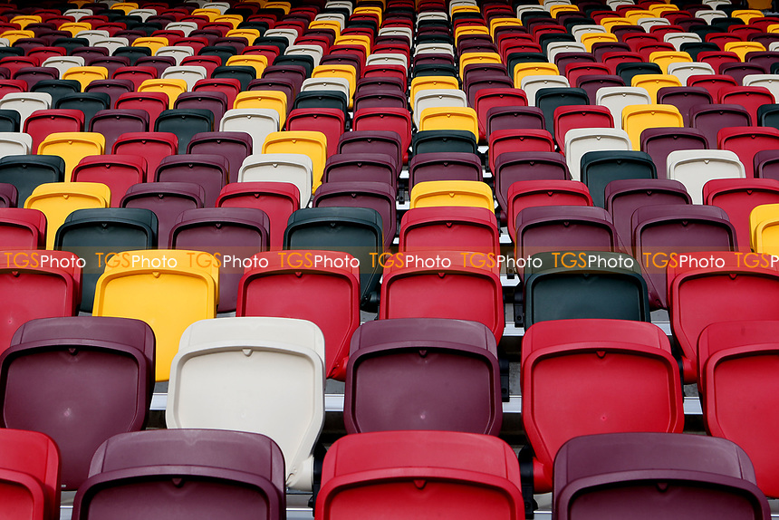General view off the seating at Brentford's new stadium during Brentford vs Barnsley, Sky Bet EFL Championship Football at the Brentford Community Stadium on 14th February 2021