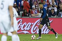 Washington, D.C. - October 11, 2016: The U.S. Men's National team take on New Zealand in an international friendly game at RFK Stadium.