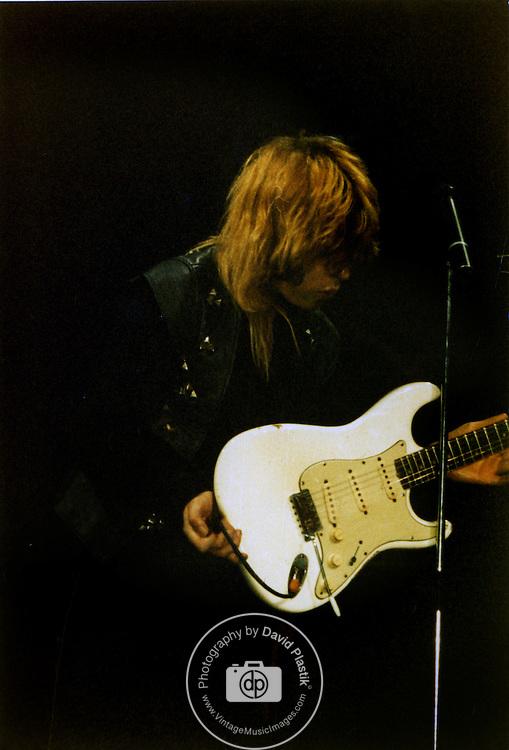 Bernie Torme of OZZY Osbourne 1982.