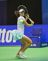 Rotterdam,Netherlands, December 15, 2015,  Topsport Centrum, Lotto NK Tennis, Eva Wacanno (NED)<br /> Photo: Tennisimages/Henk Koster