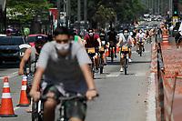 13.09.2020 - Movimentação ciclovia av Paulista em SP