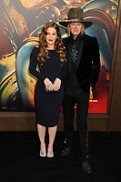 """12 July 2020 - Benjamin Keough, Son of Lisa Marie Presley and Grandson of Elvis Presley, Dead at 27 From Apparent Suicide. File photo: 7 May 2015 - Hollywood, California - Lisa Marie Presley, Michael Lockwood. """"Mad Max: Fury Road"""" Los Angeles Premiere held at the TCL Chinese Theatre. Photo Credit: Byron Purvis/AdMedia"""