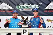 #18: Kyle Busch, Joe Gibbs Racing, Toyota Camry Comcast Salute to Service Juniper wins