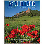 annotated photo, Book Cover, Boulder Book promo photo, Chatauqua Park, cover photo, Home button, John Kieffer's 6th book, Poppies, Twin Lights Publishers