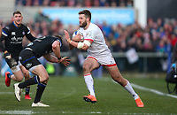 Saturday 18th January 2020 | Ulster vs Bath<br /> <br /> Stuart McCloskey during the Heineken Champions Cup Pool 3 Round 6 match between Ulster Rugby and Bath Rugby at Kingspan Stadium, Ravenhill Park, Belfast, Northern Ireland. Photo by John Dickson / DICKSONDIGITAL