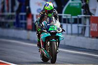 25th Septmeber 2020, Circuit de Barcelona, Catalunya, Spain; MotoGp of Catalunya, Free practise sessions;  21 Franco Morbidelli ITA
