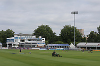 General view of the ground ahead of Essex CCC vs Yorkshire CCC, Specsavers County Championship Division 1 Cricket at The Cloudfm County Ground on 7th July 2019
