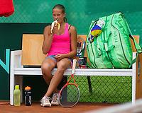 August 6, 2014, Netherlands, Rotterdam, TV Victoria, Tennis, National Junior Championships, NJK,  Bo van Beveren (NED)<br /> Photo: Tennisimages/Henk Koster