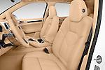 Front seat view of a 2017 Porsche Cayenne Diesel 5 Door SUV Front Seat car photos