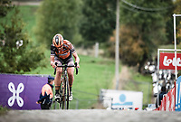 Chantal van den Broek-Blaak (NED/Boels-Dolmans) up the Paterberg<br /> <br /> 17th Ronde van Vlaanderen 2020<br /> Elite Womens Race (1.WWT)<br /> <br /> One Day Race from Oudenaarde to Oudenaarde 136km<br /> <br /> ©kramon
