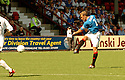 20040516    Copyright Pic: James Stewart.File Name : jspa13_dunf_v_gers.FERNANDO RICKSEN SCORES FOR RANGERS....James Stewart Photo Agency 19 Carronlea Drive, Falkirk. FK2 8DN      Vat Reg No. 607 6932 25.Office     : +44 (0)1324 570906     .Mobile  : +44 (0)7721 416997.Fax         :  +44 (0)1324 570906.E-mail  :  jim@jspa.co.uk.If you require further information then contact Jim Stewart on any of the numbers above.........