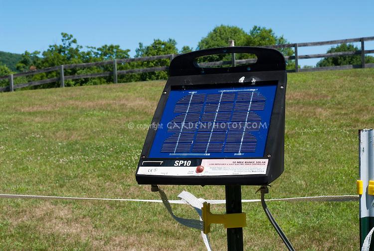 Solar powered Electric Deer Fencing Controller