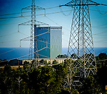The nuclear power plant is a Spanish nuclear plant located in Vandellós in Hospitalet del Infant (Tarragona). Initially consisted of two groups: Vandellós I and Vandellós II, of which the first was closed in 1989 and it is being dismounting. Inaugurated in 1972 was central GCR type (graphite-natural uranium) and refreshed by gas (the only of its kind built in Spain). Power 480 MW. April 7, 2011. (c) Pedro Armestre