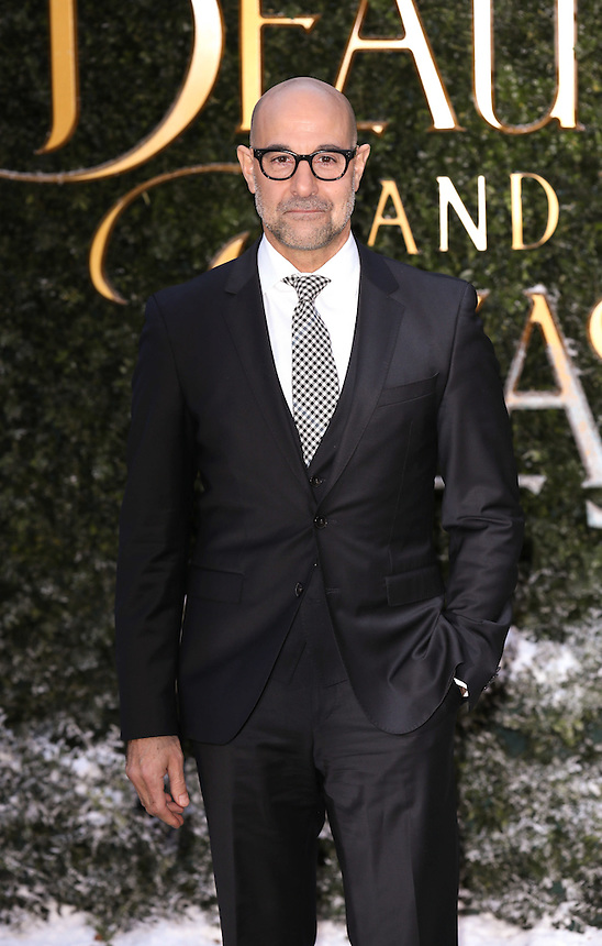 "Stanley Tucci<br /> arrives for the ""Beauty and the Beast"" screening, St.James', London.<br /> <br /> <br /> ©Ash Knotek  D3234  23/02/2017"