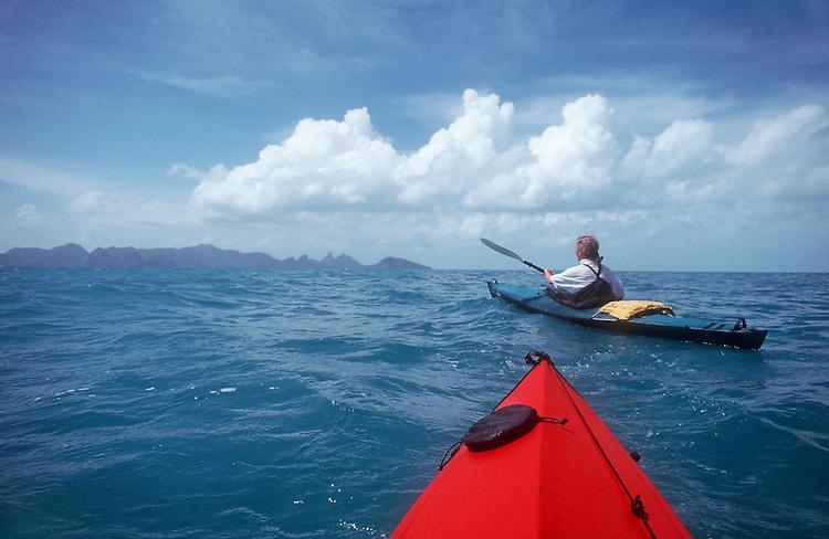 Thailand, sea kayaking, Ang Thong National Marine Park, Southeast Asia,  South China Sea, Susan Johnston,
