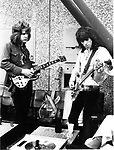 ROLLING STONES 1970 Mick Taylor and Keith Richards in Holland